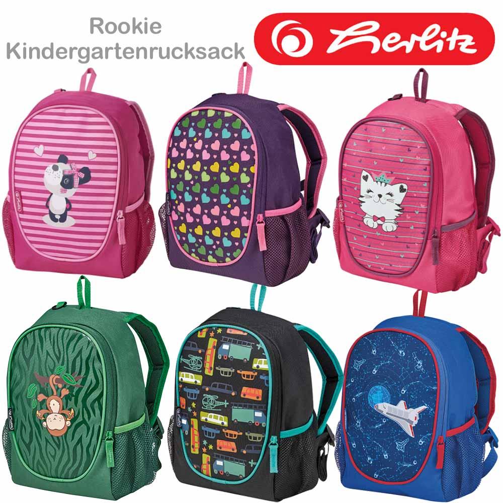 herlitz kindergartenrucksack rookie  schulranzenshop24